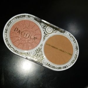Pacifica bronze blush shimmer duo